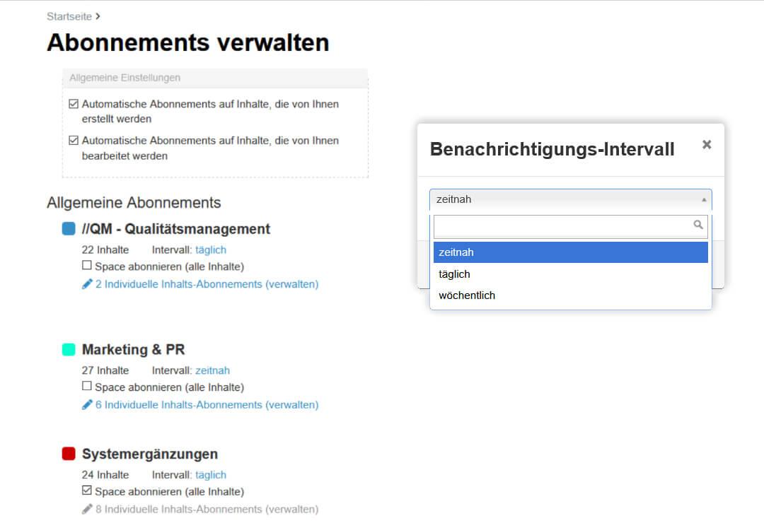 Drupal Wiki Erweiterung E-Mail Benachrichtigungen