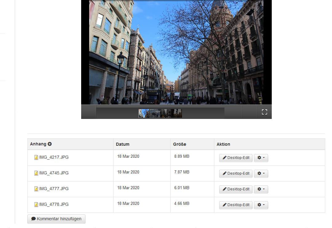 Drupal Wiki Erweiterung Bildergalerie