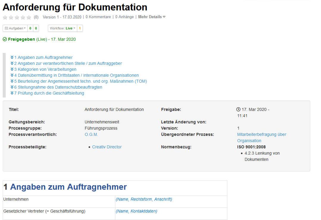 Drupal Wiki Erweiterung QM-Struktur