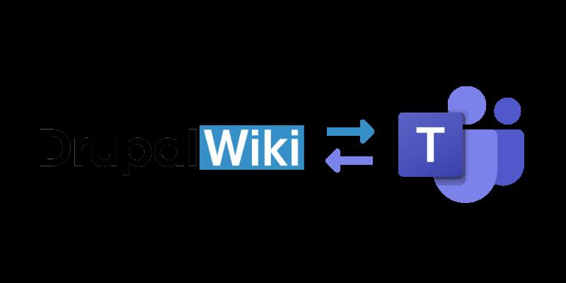 Microsoft Teams Integration für Drupal Wiki