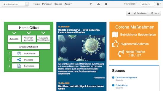 Mit Drupal Wiki im Home Office arbeiten